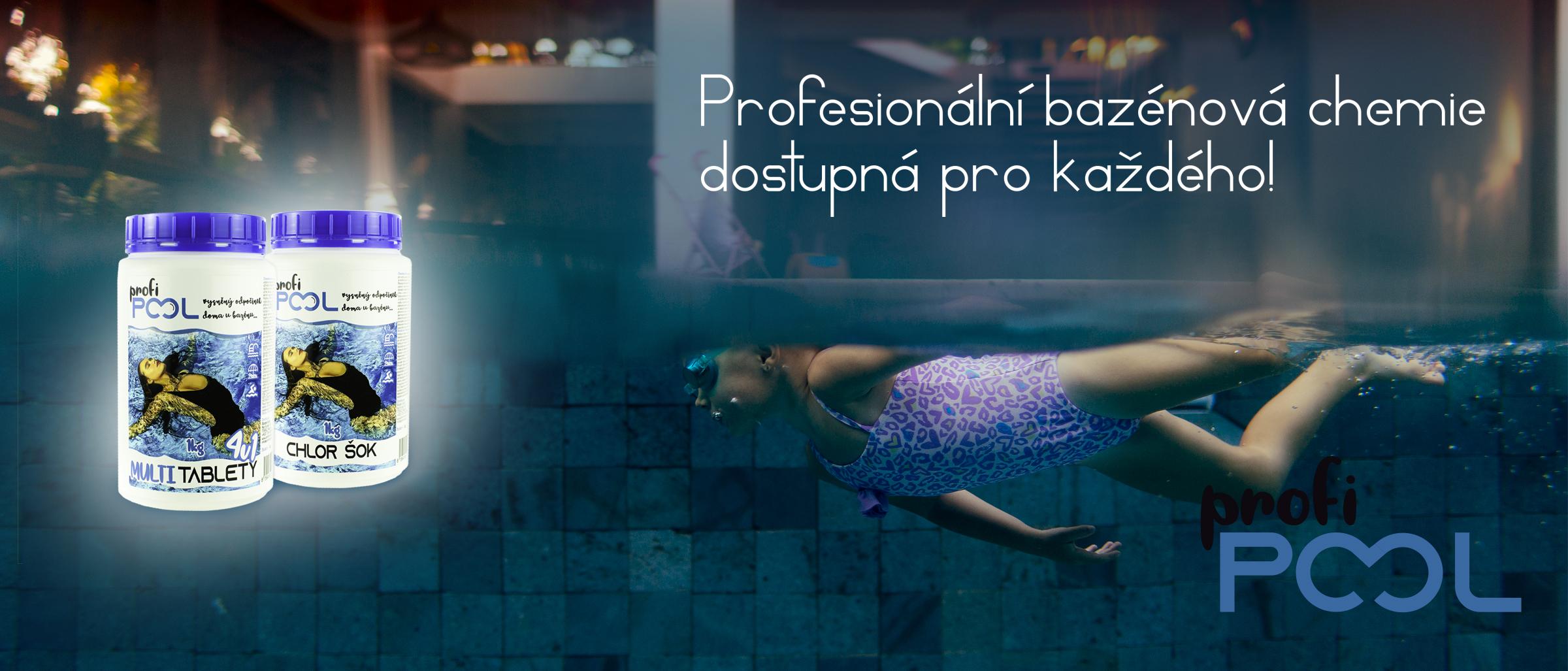 ProfiPOOL bazénová chemie dostupná pro každého