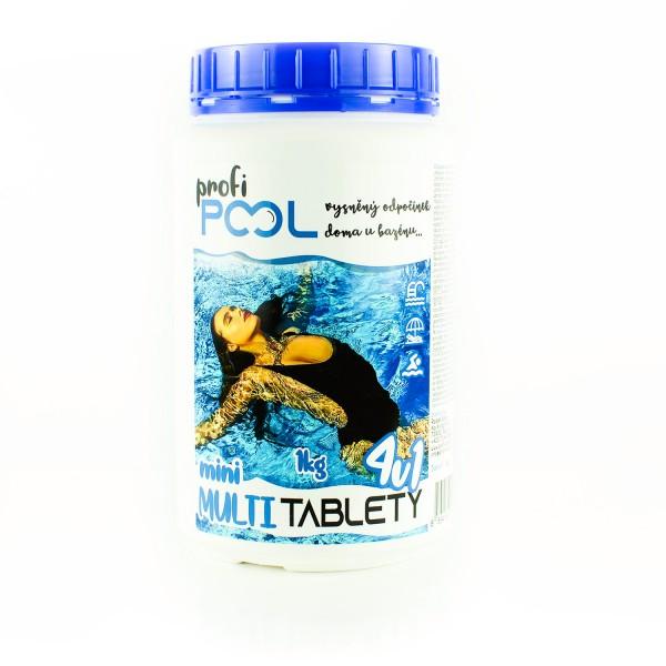 MINI MULTI Tablety 4v1 ProfiPOOL 1kg